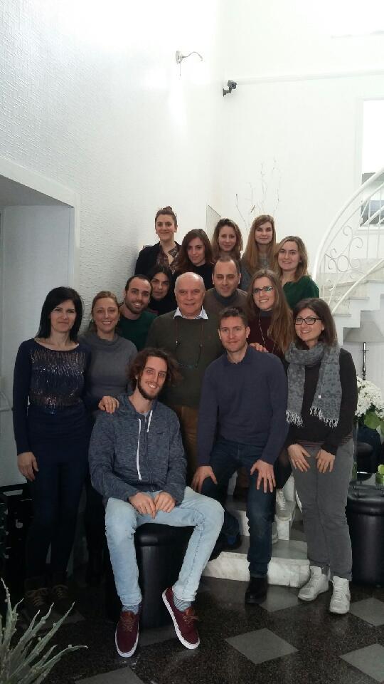 i partecipanti al corso del 4 febbraio